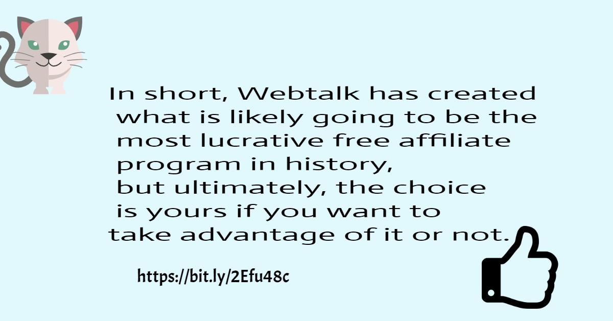 Webtalk, Scam alert
