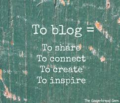 Image of blogging