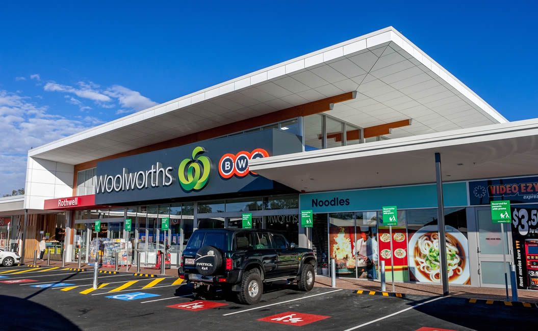 Image of Woolworths store who are great at customer relationships